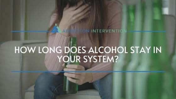 girl worring about alcohol in her system