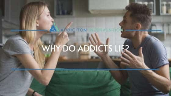 people arguing why addicts lie