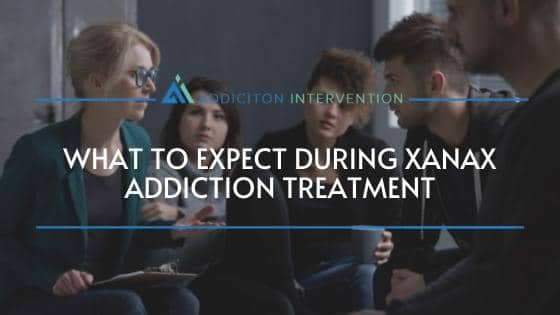 patients in Xanax addiction treatment group